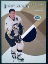 MARIO LEMIEUX  AUTHENTIC PIECE OF A GAME-USED JERSEY  /10  GOLD *SP*