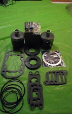 503 Rotax Aircraft Engine Piston Top End Rebuild Kit OS W bearings & Gaskets