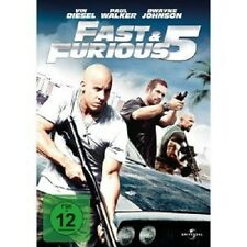 FAST & FURIOUS FIVE -  DVD NEU VIN DIESEL,PAUL WALKER,DWAYNE (THE ROCK) JOHNSON