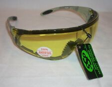 SSP Yakima Yellow Anti Fog Lens Military Camo Shooting Safety Glasses Sunglasses