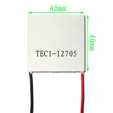 2 PCS TEC1-12705 Thermoelectric Cooler Peltier 12V 50W 77Wmax