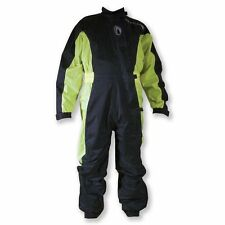 RICHA TYPHOON ONE PIECE 1PC OVER SUIT WATERPROOF MOTORCYCLE RAIN OVERALL HI-VIS
