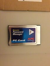 APC PCMCIA CARD BIOCB40 Touch Biometric Fingerprint Password Manager