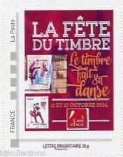 """timbre seul issu du bloc Collector carré d'encre """"fête du timbre 2014"""""""