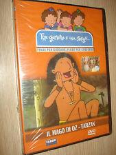 DVD TRE GEMELLE E UNA STREGA IL MAGO DI OZ TARZAN