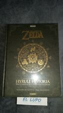 GUIDE OFFICIEL NINTENDO THE LEGEND OF ZELDA HYRULE HISTORIA NEUF SOUS BLISTER VF