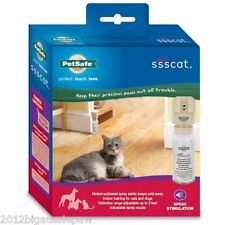 SSSCAT Spray Deterrent Cat & Dog Repellent MOTION ACTIVATED Training Kit