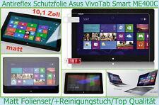 4x Anti reflex glare Asus VivoTab Smart ME400C Display Schutz Folie 3-lagig matt