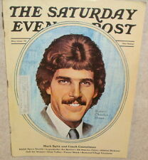 Saturday Evening Post Magazine May, 1973 Mark Spitz, Space Shuttle,