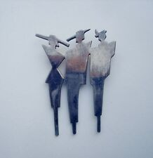 Mexican Jewelry Brooch Pin Art Nouveau Signed Mexico SU925 Sterling Silver 01568