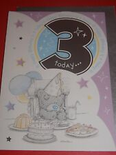"""Me to You..."""" HAPPY BIRTHDAY  3  TODAY """"..CUTE  BIRTHDAY CARD-"""