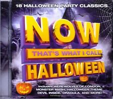 NOW That's What I Call Halloween [9/11] Various Artists (CD, Sep-2015, Legacy)