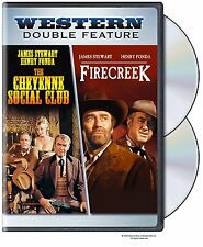 THE CHEYENNE SOCIAL CLUB / FIRECREEK (Henry Fonda) DVD - UK Compatible - sealed
