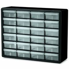 Organizer 24 Drawer Plastic Container Bin Storage Cabinet Box Hardware Craft New