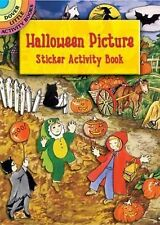 Halloween Picture Sticker Activity Book by Joan O'Brien (2004, Paperback,...