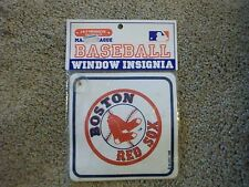 Boston Red Sox - MLB - Vintage Decal Window Insignia - Car Auto - RARE NEW