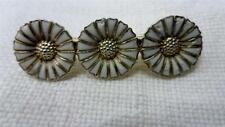 Vintage Anton Michelsen Sterling Silver Daisy