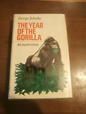 The Year of the Gorilla By George Schiller 1965 University Of Chicago press