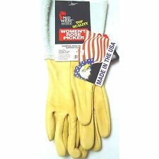 Pair Women's Rose Picker Gardening Work Landscaping Gloves Size 7