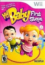 My Baby: First Steps  (Wii, 2009) NEW