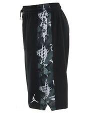 Nike sz L Air Jordan VI 6 RETRO Men's Basketball Shorts NEW 687802-010 Black