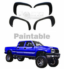 1999-2006 Chevrolet Silverado GMC Sierra Fender Flares Matte Finish, Set of 4
