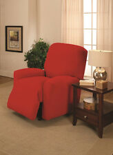 CLEARANCE----RED COVERS FOR RECLINERS SOFA COUCH LOVESEATS & CHAIRS--A GREAT BUY