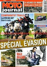 MOTO JOURNAL 1854 BMW R1200GS DUCATI 1100 Multistrada TRIUMPH 1050 Tiger KTM 990