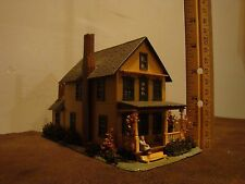 Model Railroad Building (Two Story House) HO scale
