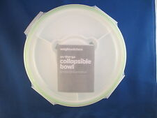 Weight Watchers On The Go Collapsible Bowl NEW