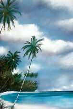 Billy Arvidson The Palms Point Poster Kunstdruck Bild 88x60cm - Portofrei