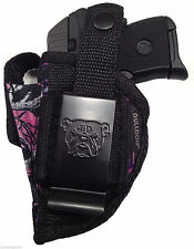 Ruger LCP 380 Muddy Girl Camo Gun holster With Extra-Magazine Holder