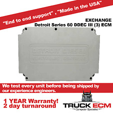 Detroit Series 60 DDEC III (3) ECM