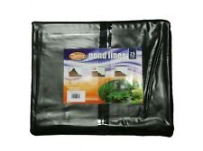 Pre Cut Pre Pack Garden Pond Liner PVC 0.5mm 3M x 4M