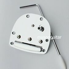 NEW Jazzmaster Jaguar Chrome TREMOLO Tailpiece Bridge Guitar Vibrato & Whammy