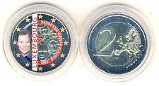Moneda conmemorativa 2015 Luxemburgo 125 Años Dynastie Nassau-Weilburg COLOR