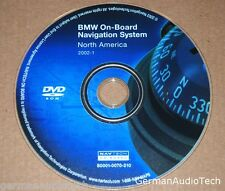 BMW NAVTEQ ON BOARD NAVIGATION DVD MAP DISC NORTH AMERICA 2002-1 S0001-0070-210