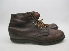 RED WING R176 Women's Size 7.5 M Classic MADE IN USA Brown Leather Boots