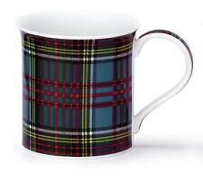 Lovely Traditional Anderson Tartan Dunoon Fine Bone China Mug Bute Shape