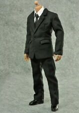 1/6 ZY Toys Men's Black Color Suit Full Set (not INC body) in stock