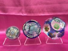 perthshire clichy ysart ..paperweight stands for sale