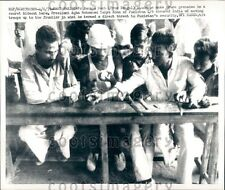 1971 Bangladesh Students Make Crude Grenades in Secret Hideout Press Photo