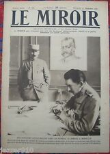 LE MIROIR  n°162 ¤ 31/12/1916 ¤ OFFICIER D'ETAT MAJOR A MONASTIR