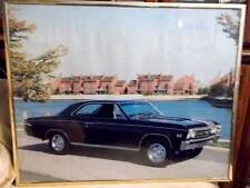 Framed poster print 1967 Chevelle Super Sport from the Classics Collection