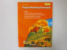 Focus on Earth Science California ed. Progress Monitoring Assessments 0132034581