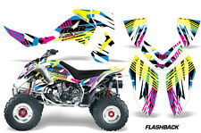 Polaris Outlaw 500/525 ATV AMR Racing Graphics Sticker Kits 06-08 Decals FLASHBK