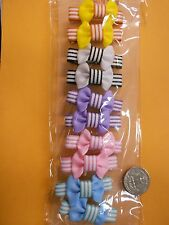 small girl hair clip pin bow Barrette TODDLER Dog 16