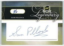 2011-12 THE CUP LEGENDARY CUTS AUTOGRAPH AUTO #LC-SP SAM POLLOCK 1/1 !!