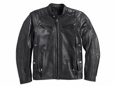 Harley Davidson Men's Drauger Willie G Skull Black Leather Jacket  M 97194-14VM
