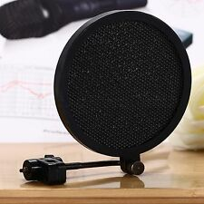 Pro Mini MIC Microphone Anti pop Shield Filter Screen Single Flex 8cm 3.1inch